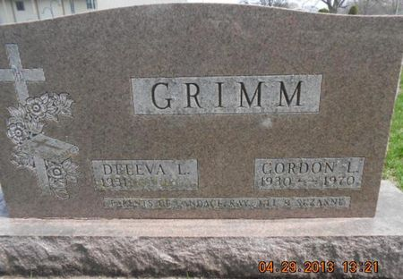 GRIMM, GORDON L. - Delaware County, Iowa | GORDON L. GRIMM