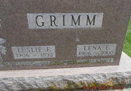 GRIMM, LENA E. - Delaware County, Iowa | LENA E. GRIMM