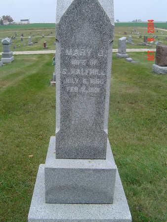 HALFHILL, MARY J. - Delaware County, Iowa | MARY J. HALFHILL