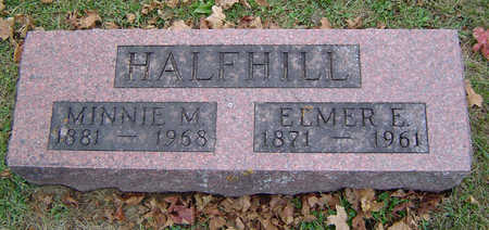 HALFHILL, MINNIE M. - Delaware County, Iowa | MINNIE M. HALFHILL
