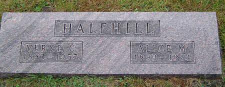 HALFHILL, VERNE C. - Delaware County, Iowa | VERNE C. HALFHILL
