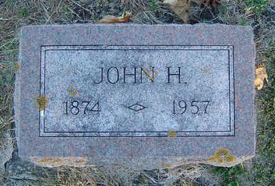 HAMLETT, JOHN H. - Delaware County, Iowa   JOHN H. HAMLETT