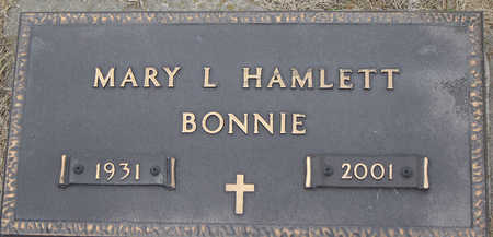 BISSELL HAMLETT, MARY L. (BONNIE) - Delaware County, Iowa | MARY L. (BONNIE) BISSELL HAMLETT