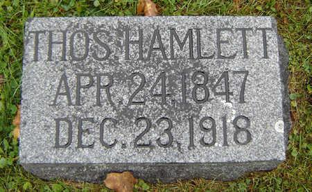 HAMLETT, THOMAS - Delaware County, Iowa   THOMAS HAMLETT