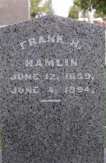 HAMLIN, FRANK H. - Delaware County, Iowa | FRANK H. HAMLIN