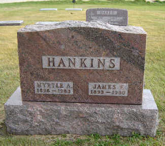 SMITH HANKINS, MYRTLE A. - Delaware County, Iowa | MYRTLE A. SMITH HANKINS