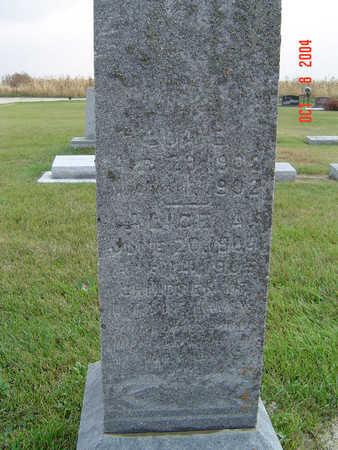 HANKINS, ALICE A. - Delaware County, Iowa   ALICE A. HANKINS
