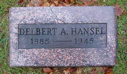 HANSEL, DELBERT A. - Delaware County, Iowa   DELBERT A. HANSEL