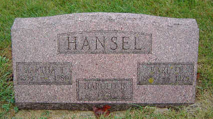 HANSEL, MARTHA THERESA - Delaware County, Iowa | MARTHA THERESA HANSEL