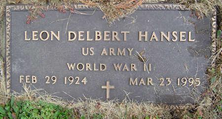 HANSEL, LEON DELBERT - Delaware County, Iowa | LEON DELBERT HANSEL