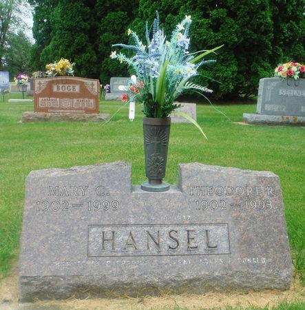GROBSTICK HANSEL, MARY C. 'MAMIE' - Delaware County, Iowa | MARY C. 'MAMIE' GROBSTICK HANSEL