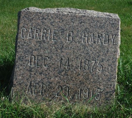 SOUTH HARDY, CATHERINE B.