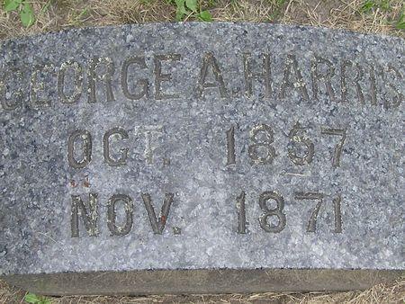 HARRIS, GEORGE A. - Delaware County, Iowa | GEORGE A. HARRIS