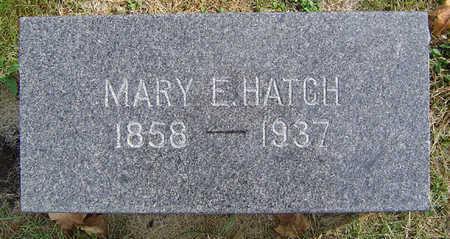 HATCH, MARY ELLA - Delaware County, Iowa   MARY ELLA HATCH