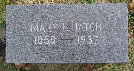HOFFMAN HATCH, MARY ELLA - Delaware County, Iowa | MARY ELLA HOFFMAN HATCH