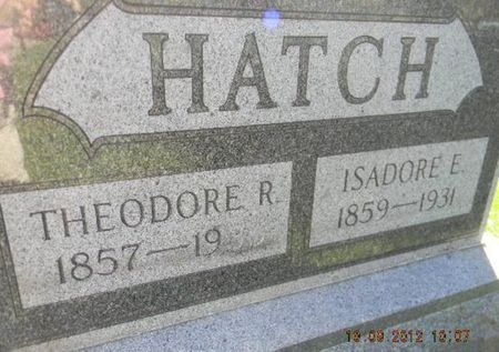 HATCH, ISADORE E. - Delaware County, Iowa | ISADORE E. HATCH
