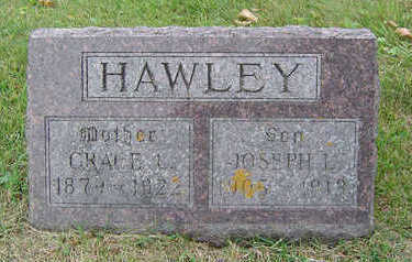 WHEELER HAWLEY, GRACE L. - Delaware County, Iowa | GRACE L. WHEELER HAWLEY