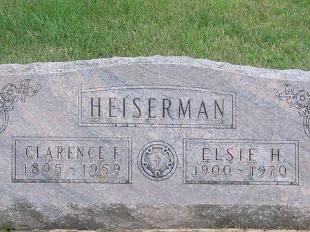 HEISERMAN, ELSIE H. - Delaware County, Iowa | ELSIE H. HEISERMAN