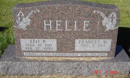HELLE, LEO B. - Delaware County, Iowa | LEO B. HELLE
