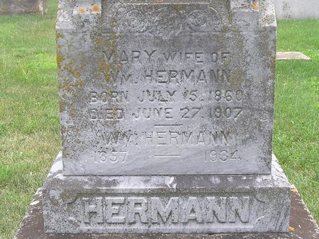 HERMANN, MARY - Delaware County, Iowa | MARY HERMANN