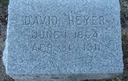 HEYER, DAVID - Delaware County, Iowa | DAVID HEYER