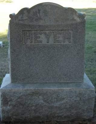 HEYER, FAMILY STONE - Delaware County, Iowa | FAMILY STONE HEYER
