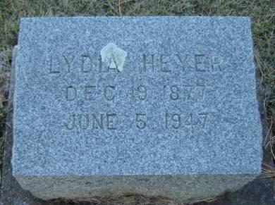 HEYER, LYDIA - Delaware County, Iowa | LYDIA HEYER