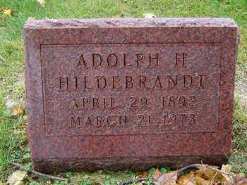 HILDEBRANDT, ADOLPH H. - Delaware County, Iowa | ADOLPH H. HILDEBRANDT