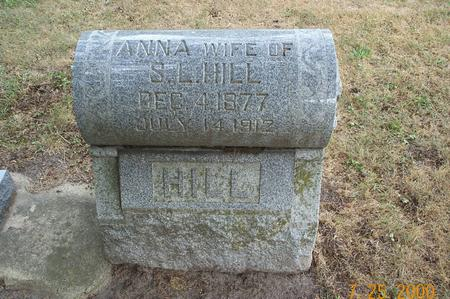WHITMAN HILL, ANNA - Delaware County, Iowa | ANNA WHITMAN HILL