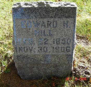 HILL, EDWARD H. - Delaware County, Iowa | EDWARD H. HILL