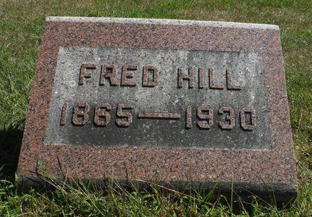 HILL, FRED - Delaware County, Iowa | FRED HILL