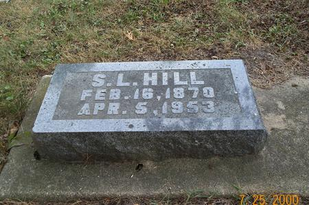HILL, S.LIONEL - Delaware County, Iowa | S.LIONEL HILL