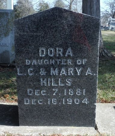 HILLS, DORA - Delaware County, Iowa | DORA HILLS