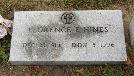 HINES, FLORENCE E. - Delaware County, Iowa | FLORENCE E. HINES