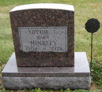 HINKLEY, EDYTHE L. - Delaware County, Iowa | EDYTHE L. HINKLEY