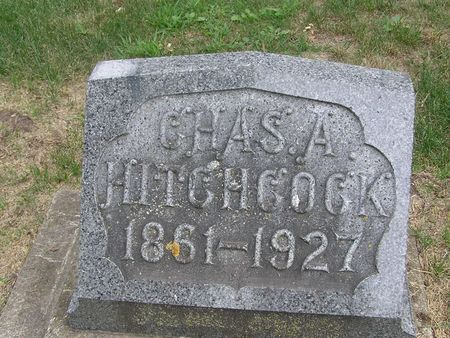 HITCHCOCK, CHAS A. - Delaware County, Iowa | CHAS A. HITCHCOCK