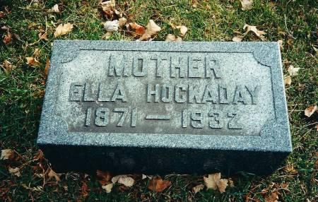 THOMAS HOCKADAY, ELLA - Delaware County, Iowa | ELLA THOMAS HOCKADAY