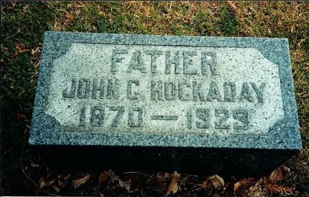 HOCKADAY, JOHN C. - Delaware County, Iowa   JOHN C. HOCKADAY