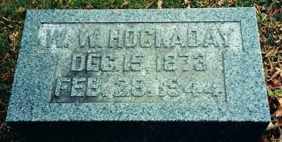 HOCKADAY, WILLIAM WALLACE - Delaware County, Iowa | WILLIAM WALLACE HOCKADAY