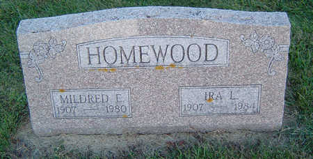 HOMEWOOD, MILDRED E. - Delaware County, Iowa | MILDRED E. HOMEWOOD