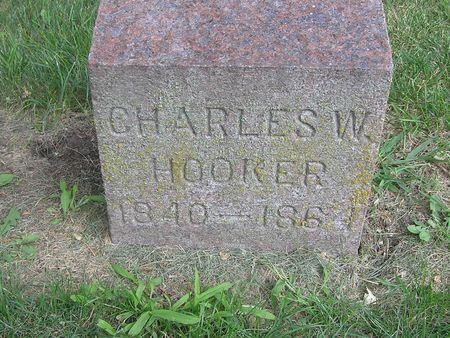 HOOKER, CHARLES W. - Delaware County, Iowa   CHARLES W. HOOKER