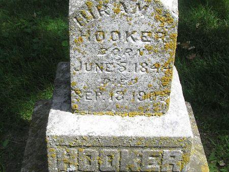 HOOKER, HIRAM - Delaware County, Iowa | HIRAM HOOKER