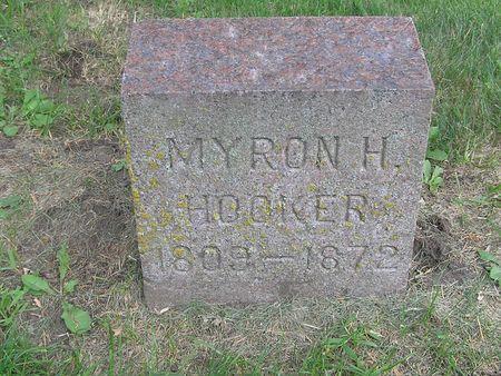 HOOKER, MYRON H. - Delaware County, Iowa | MYRON H. HOOKER