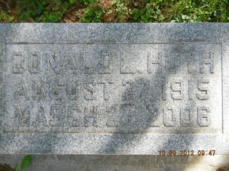 HOTH, DONALD L. - Delaware County, Iowa | DONALD L. HOTH