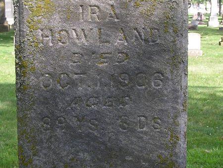 HOWLAND, IRA - Delaware County, Iowa | IRA HOWLAND