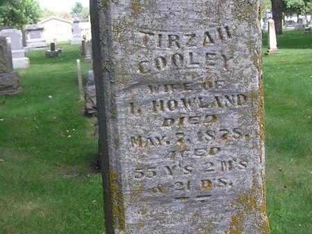 HOWLAND, TIRZAH - Delaware County, Iowa | TIRZAH HOWLAND