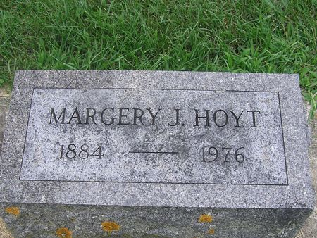 HOYT, MARGERY J. - Delaware County, Iowa | MARGERY J. HOYT