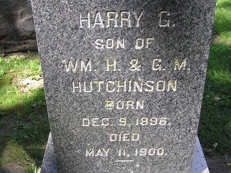 HUTCHINSON, HARRY - Delaware County, Iowa | HARRY HUTCHINSON