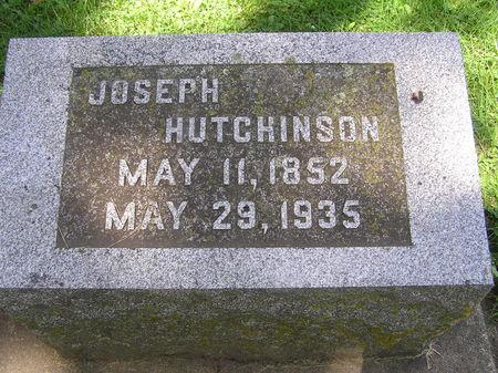 HUTCHINSON, JOSEPH - Delaware County, Iowa   JOSEPH HUTCHINSON