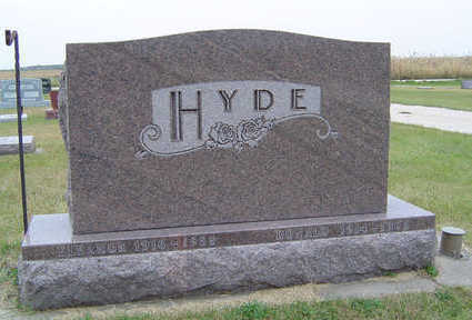 HYDE, DONALD - Delaware County, Iowa | DONALD HYDE